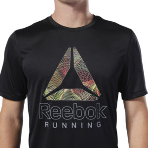 REEBOK RE GRAPHIC TEE NEGRO